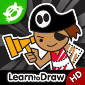 Kids Drawing: Pirates - Free Drawing And Coloring Book for Kids with Fun Pirate Ships and Treasure!