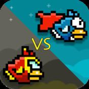 Flappy Twin Hero Bird - Super Bird vs Iron Bird