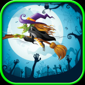 Floppy Witch – Tap tap, flying game, free game for kids, flying city, jumping game game cd