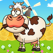 A Farm Cow Gone Wild GRAND - Save your Hay Harvest Before the Crazy Bull Eats the Stack
