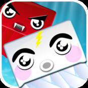 White Jelly Hero : Help Cutest Jelly Escape from Red Enemy Splashing