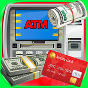 ATM Simulator - Kids Money, Cash & Debit Card Games FREE