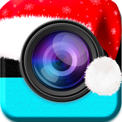 Christmas photo modification:Edit photo with Best Photo Editing tool blur&focus.crop,fx and other effects linux photo tool