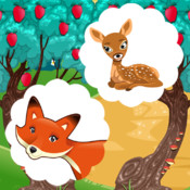 A Free Train Your Brain Educational Interactive Learning Game For Kids – Remember Me, Fox and Bambi