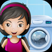 Arya Washing Clothes Kids Game