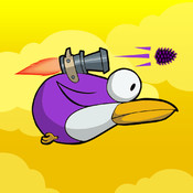 Flappy Shooting Bird - Flap & Hit mad enemy birds mad birds pursuit