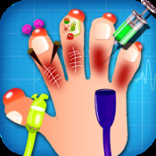 Kids hand doctor – A Free hand surgery game for kids & girls hand tendon injuries