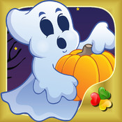 Halloween Games - Cute and Scary Jigsaw Puzzles and Drawings for Kids and Toddler, Boys and Girls