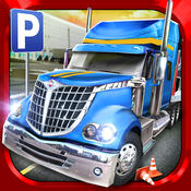 Trucker: Parking Simulator - Realistic 3D Monster Truck and Lorry `Driving Test` Free Racing Game
