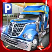 Trucker parking simulator - real highway truck driver