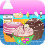 Cupcake Store -Cooking Maker game