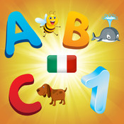 Italian Alphabet for Toddlers and Kids : Learn Italian language , letters and numbers ! italian