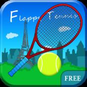 Flappy Tennis Free - Paris Edition
