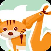 Wacky Animals Mix & Match - PreSchool Fun