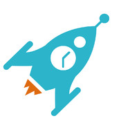 Rocket Alarm Clock - Funny and beautiful alarm with mini games. automatic alarm