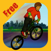Riding BMX