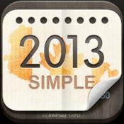 2013 Canada Calendar : Simple 3d max2008 calendar