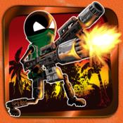 A Big Guns Stickman Assault - Shooting Warfare Sniper Combat Games