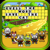 Cat Rescue - Unlimited Word Scrambler to Guess and Improve English Vocabulary and Free the Ninja Cats