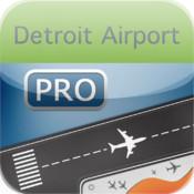 Detroit Airport HD Flight Tracker