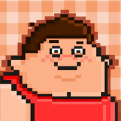 Fat People FREE GAME - Quick Old-School Retro Pixel Art Games pixel people