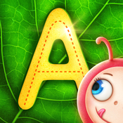 Yum-Yum Letters - learn how to write letters from A to Z and improve handwriting games