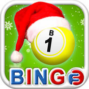 A Merry Christmas Bingo Bash : Lucky American Numbers Card Rush PRO
