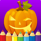 Halloween Coloring Book for Kid Games