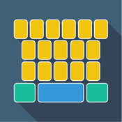 InstaKey for Custom Keyboard Themes - Free Color Picture Gif Kiwi Keyboards Creator + autocorrect