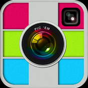 Pic`Em Photo Collage for Instagram and Facebook + Pic Frames