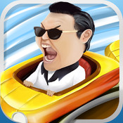 PSY Style Roller Coaster Race HD PRO - Gentleman Edition Racing Game