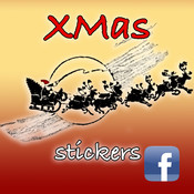 XMAS Stickers: Tap & Create your Santa Claus create