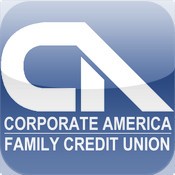 Corporate America Family Credit Union Mobile Banking App