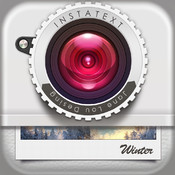 InstaText Free - add text captions to photos or pictures for Instagram