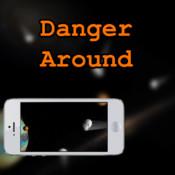 Danger Around virtual screen