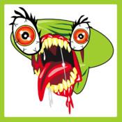 Alien Zombie Bug Face