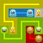Connect Monsters Free - Fun New Monsters Dot Link And Connect Game