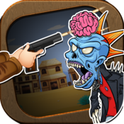 Shoot The Dead Zombies - The Age Of Fire Shooting War Game PRO