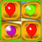 Color Balloons Cards - Colors Flash Cards Balloons Game - The Best Cards Game