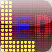 0xLED Matrix text scrolling scrolling text ticker