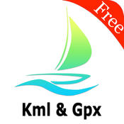 Kml Kmz Gpx Viewer and converter on gps map