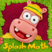 Splash Math Kindergarten: Fun Educational Worksheets for Counting Numbers, Addition and Subtraction