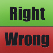 Right Wrong Word Game For iPad