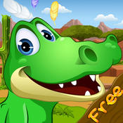Alligator Runner FREE - Addictive Endless Running Game!