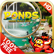 Ponds - Free Search & find concealed and hidden objects in a lake