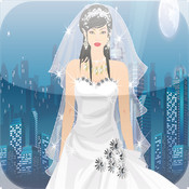 Elegant Bride Girl Game wedding album design