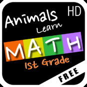 Animals Learn Mathematics - First Grade - Free