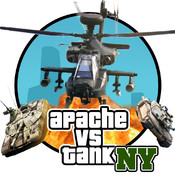 Apache vs Tank in New York! (Air Forces vs Ground Forces!) apache hills overkill