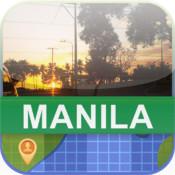 Offline Manila, Philippine Map - World Offline Maps manila standard
