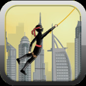 SuperFly City Escape - Rope Swinging From Building to Building building